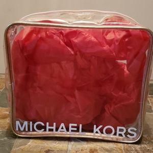 Michael Kors Clear Cosmetic Bag